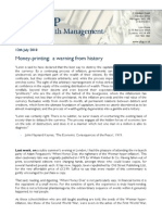 Money Printing - A Warning From History