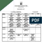 Horario i Semestre 2017v8