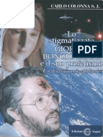 Libro Lo Stigmatizzato Giorgio Bongiovanni e Il Suo Profetismo