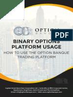 How to Use Optionbanque Trading Platform