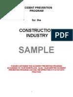Construction App Sample