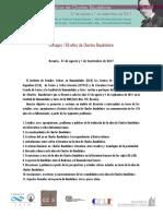 II Circular Coloquio Baudelaire