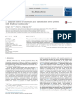 Adaptive Control of Uncertain Gear Transmission Servo Systems With Deadzone Nonlinearity