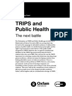 TRIPS and Public Health