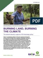 Burning Land, Burning the Climate