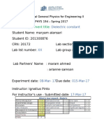 Lab Report Template -PHYS 194-3