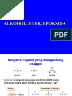 (1)Alkohol, Eter Dan Epoksida
