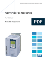 WEG Cfw700 Manual de Programacion Manual Espanol