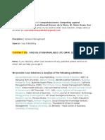 Case Solution for CompuSoluciones Competing against Disintermediation