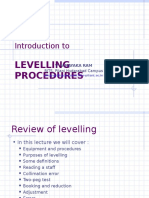 7 Levelling Procedures