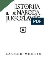 Historija Naroda Jugoslavije II