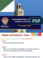 12 Trigonometric Levelling