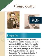 Apresentação de Afonso Costa Por João Nº20