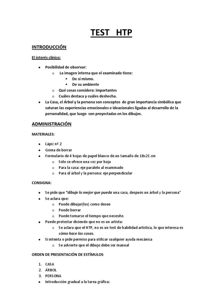 Htp test de la figura humana y test de una familia for El gran manual del cocinero pdf