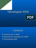 TecnologíasWAN