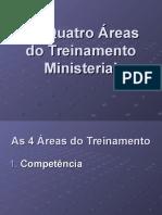 Quatro características Do Treinamento Ministerial