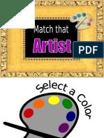 Match that Artist.ppt
