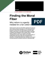 Finding the Moral Fiber