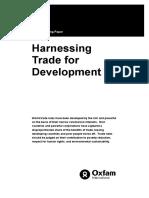 Harnessing Trade for Development