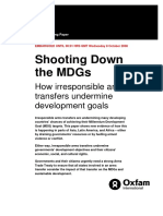 Shooting Down the MDGs