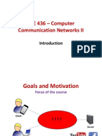 1 Computer Networks Introduction