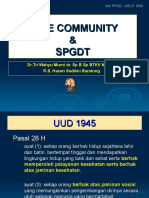 Safe Community & Spgdt 2009
