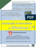 Informática Básica  Introdução ao Windows 7