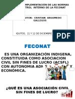 Control Interno Feconat