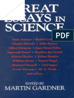 Great Essays in Science (Gnv64)