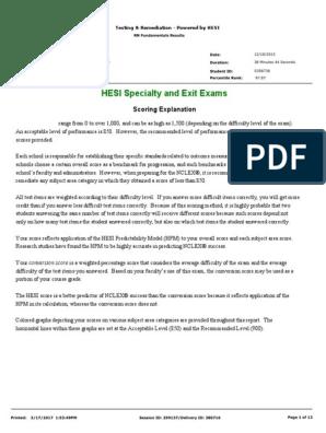hesi assessment   Test (Assessment)   Nursing
