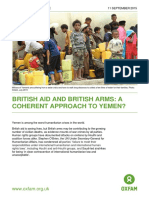 British Aid and British Arms