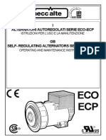 Mecc Alte - ECO-ECP Manual