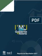 Reporte de Resultados Metrica Gobierno Abierto