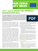 Why India Needs the Women's Reservation Bill