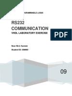 RS232 Communications