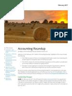 Accounting Roundup - Feburary 2017