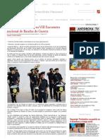 Convoca Antorcha a Su VIII Encuentro Nacional de Bandas de Guerra • Movimiento Antorchista Nacional