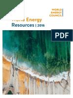 World Energy 2016