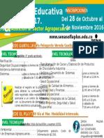 1a Oferta Educativa C.a.S.a 2017