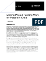Making Pooled Funding Work for People in Crisis