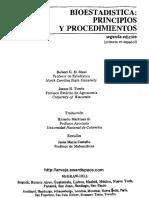 Steel Robert G - Bioestadistica Principios Y Procedimientos 2ed