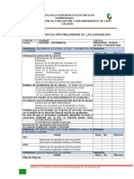 ANEXO 1A Fichas de Verificacion Preliminar de Las Evidencias