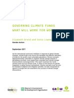 Governing Climate Funds