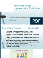 regulation and social development in the early years parent fop