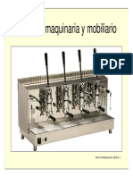 MOBILIARIO MAQUINARIA EQUIPOS