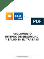 Reglamento Interno SST CAM PERU