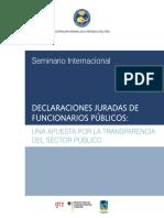 Contraloria General de la República del Perú (2010). Declaraciones juradas de funcionarios públicos... Lima, CGR, 2010