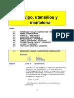Equipos y utencilios, manteleria.pdf