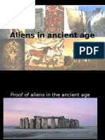 Aliens in ancient age