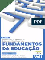 eBook 1 Epen 2016 - Fundamentos Da Educação